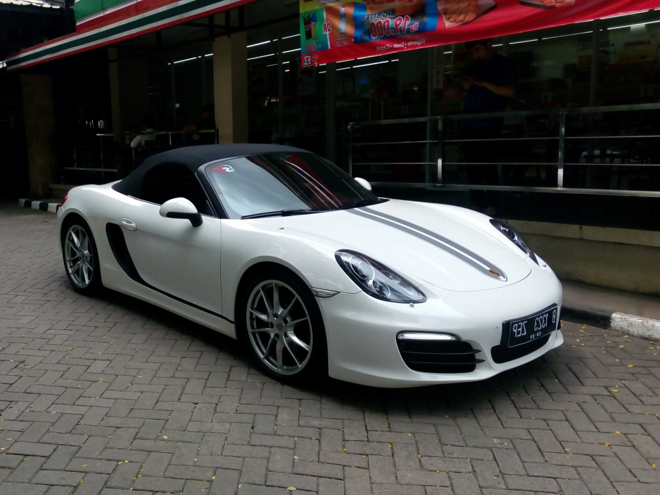 RENTAL PORSCHE BOXTER, SEWA MOBIL PENGANTIN, WEDDING CAR
