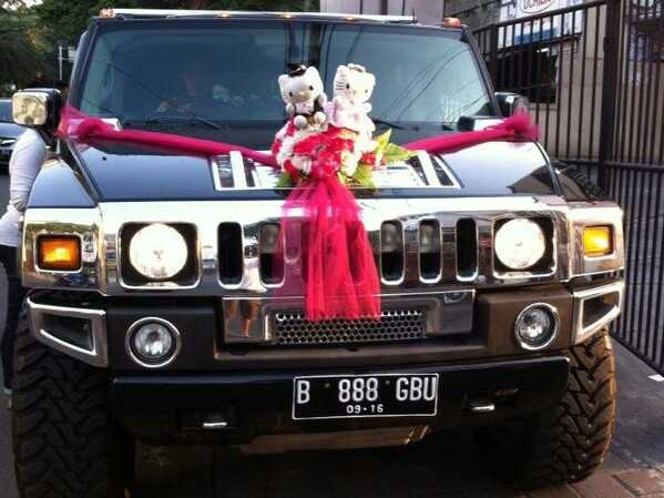 rental mobil Hummer H2, sewa hummer, rental hummer, sewa mobil mewah, rental mobil pengantin, wedding car
